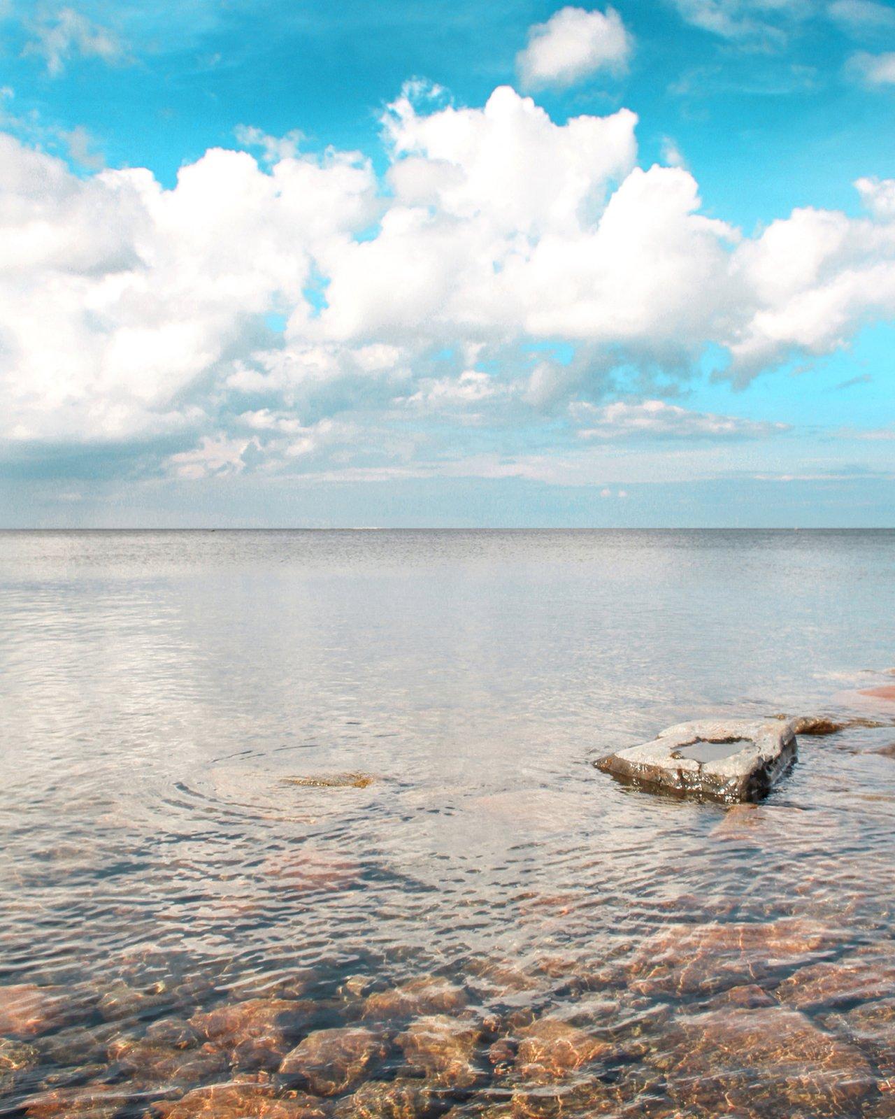 Merimaisema Fäbodan alueella Pietarsaaressa.
